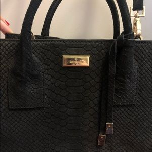 kate spade Bags - Kate Spade Black Suede Purse